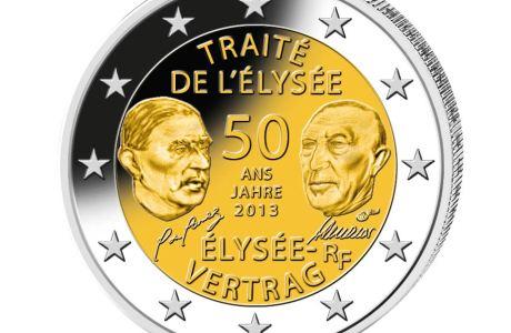 Münzensatz 50 Jahre Elysee-Vertag
