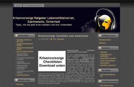 Krisenvorsorge-Ratgeber.de online
