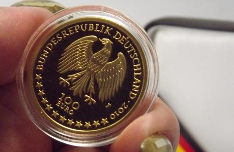 Deutsches Gold kommt heim
