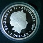 Australian Dollar eine Bullionmünze