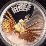 Farbmünze Lionfish der Australien Sea Life I
