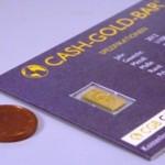 Cash Gold Bar Goldbarren